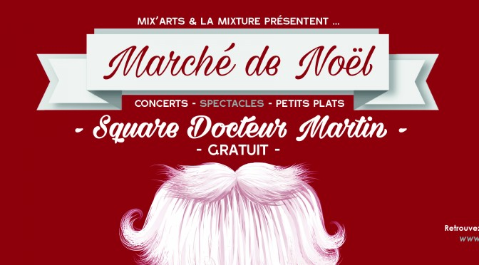 Du 21 Nov. au 23 Déc. – Square Docteur Martin