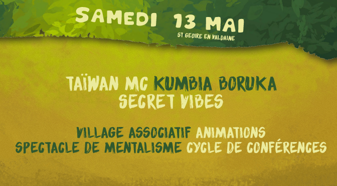 13/05 – Festival Bien l'Bourgeon – St Geoire en Valdaine