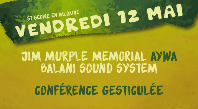 Vend 12 mai - Prog Festival Bien l'Bourgeon - Mix'Arts - 38