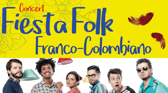 Fiesta Flok Franco Colombiano - Grenoble - CMRA et Mix'Arts
