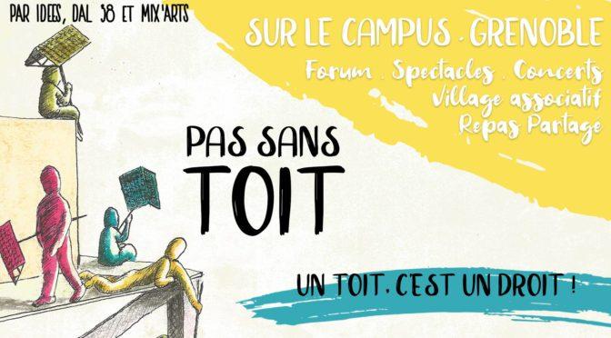 Les 17,18, et 20/04 – Pas Sans Toit – Campus + Villeneuve