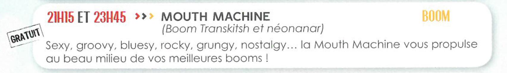 mouthmachine