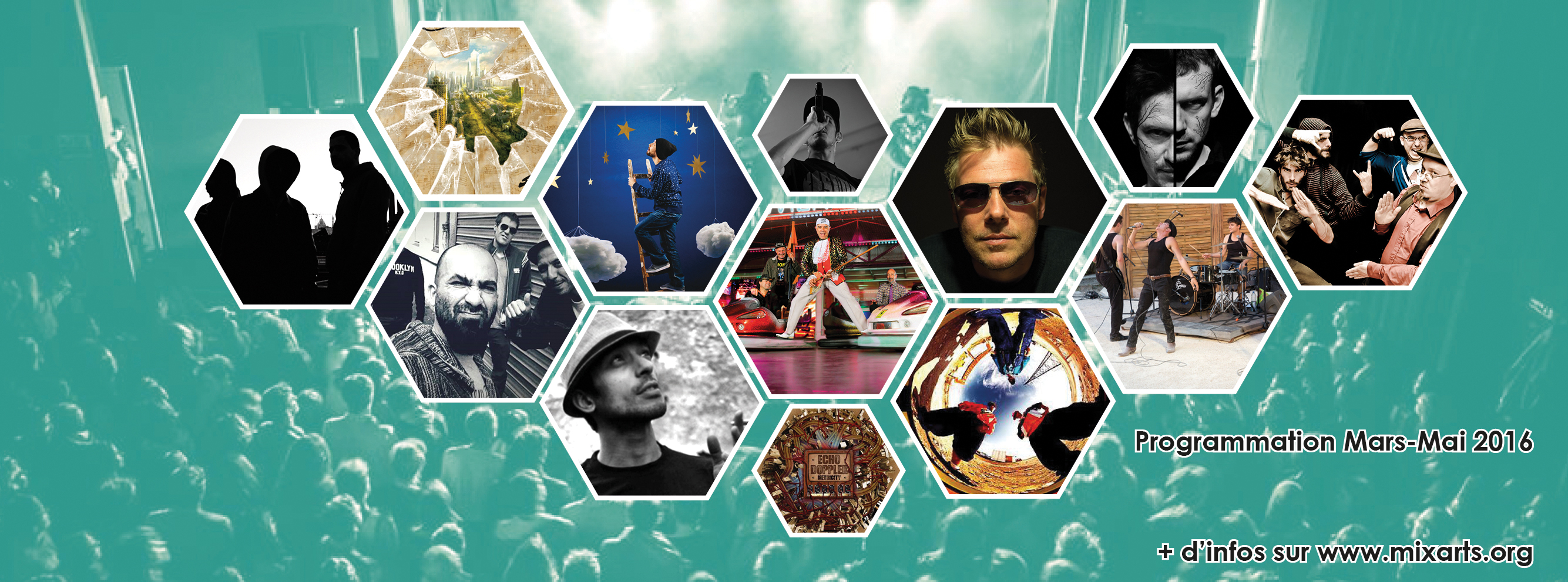 Programmation mars - mai 2016 / Association Mix'Arts