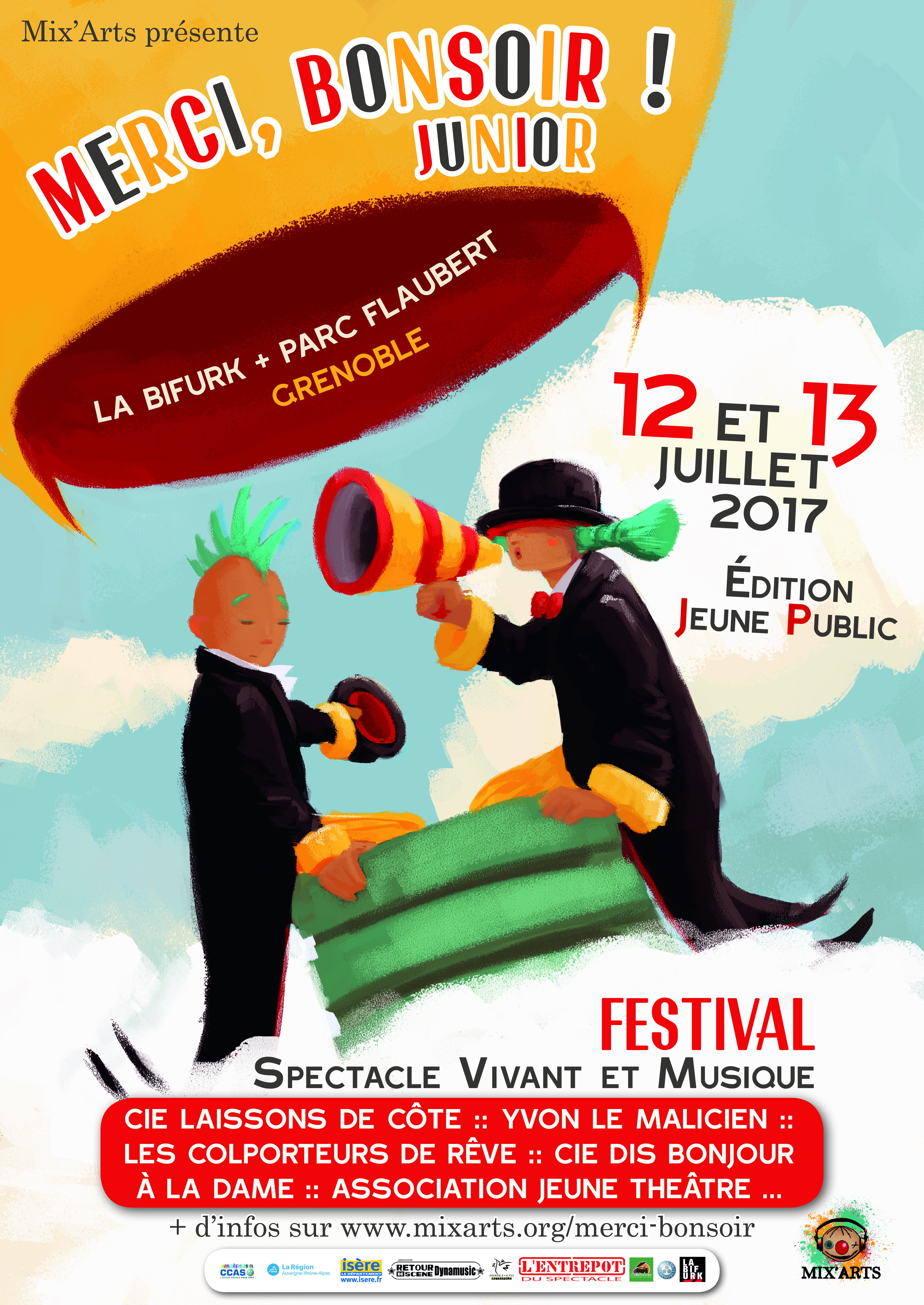 Festival Merci, Bonsoir Junior 2017