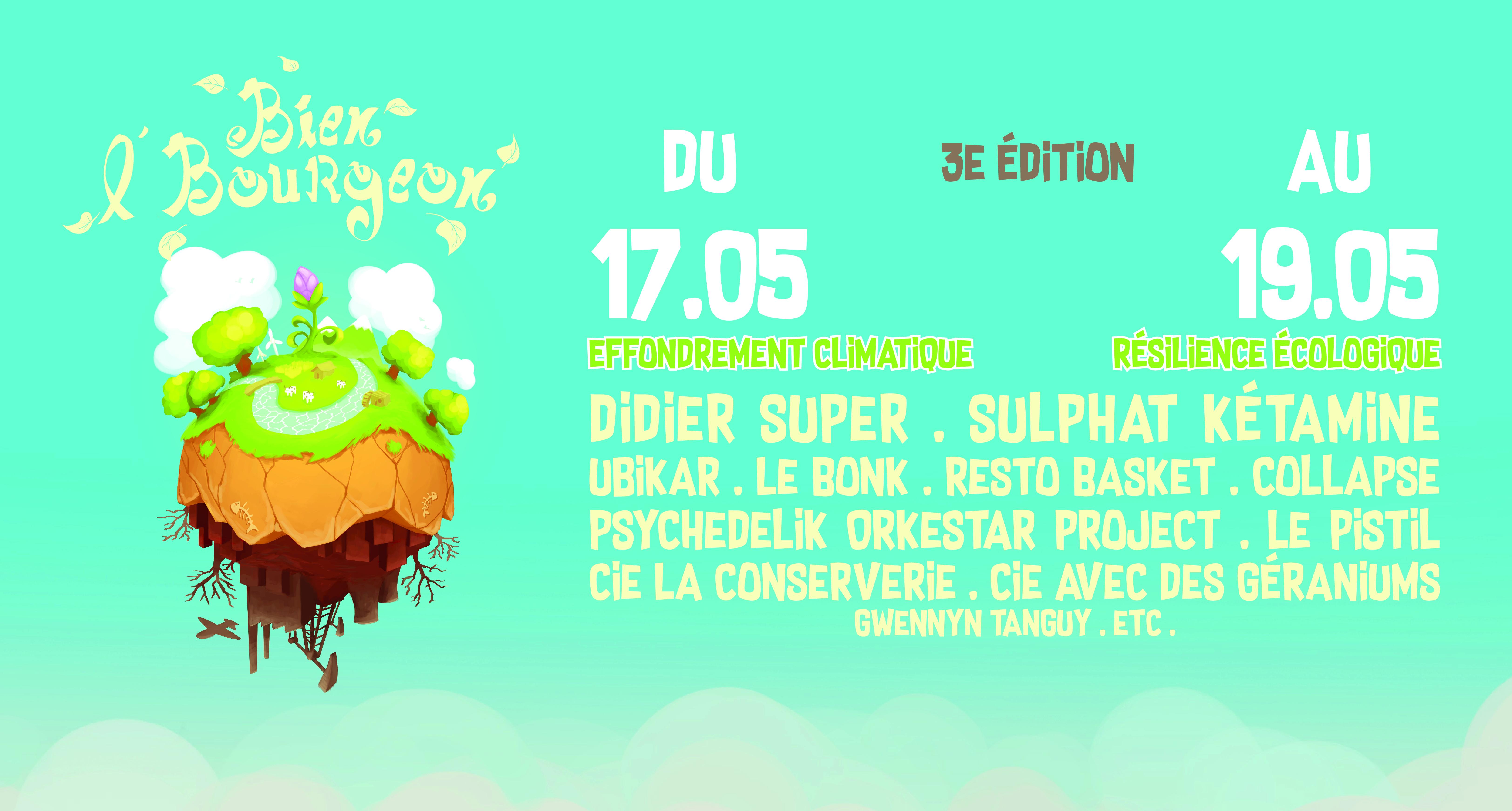 Festival Bien l'Bourgeon #3 - Mix'Arts - Grenoble